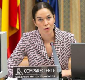 Arola Urdangarin habla en el Congreso de los Diputados