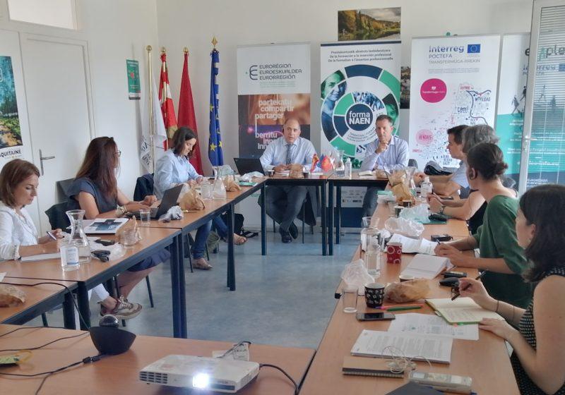 Réunion stratégie universitaire eurorégionale